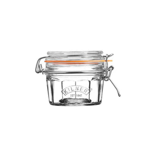 Kilner 250ml Facetted Clip Top Glass Storage Jar