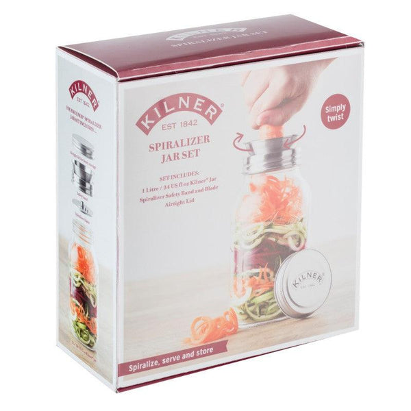 Kiner 1 Litre Glass Spiralizer Jar