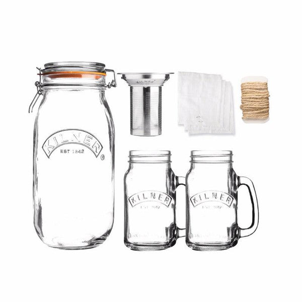Kilner Cold Brew Coffee Set - 6 Piece
