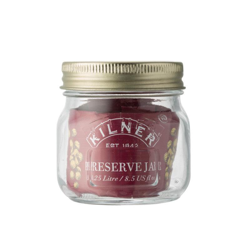 Kilner 250ml Glass Preserving Jar With Lid