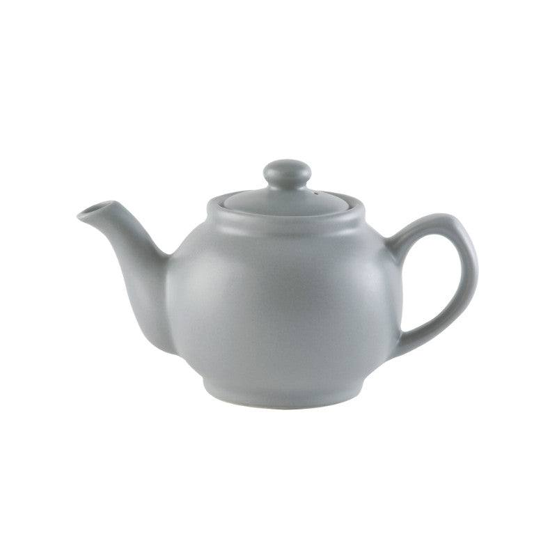 Price & Kensington Matt Grey 450ml Stoneware Teapot