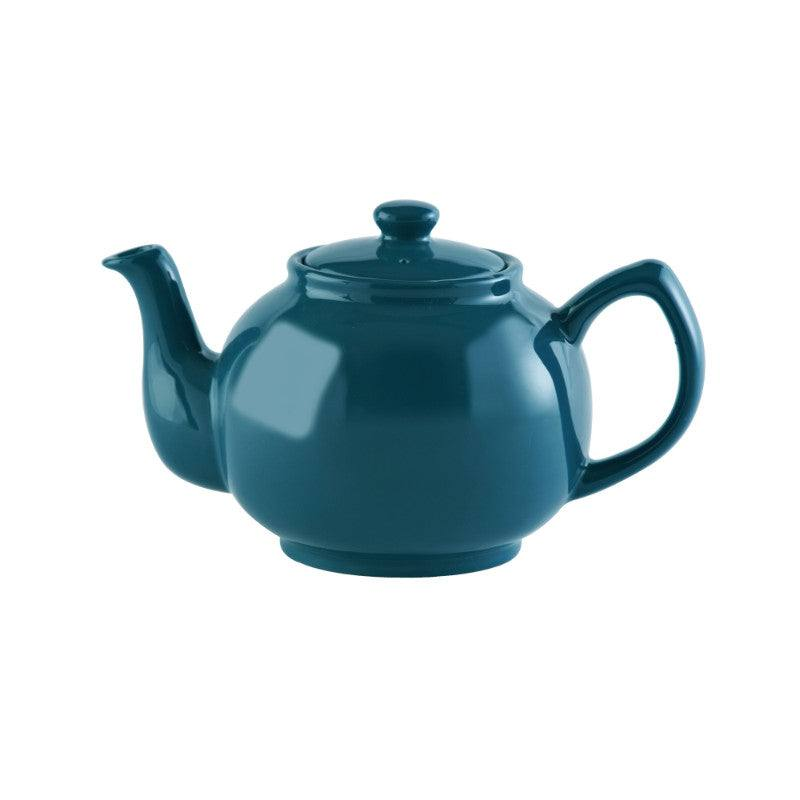 Price & Kensington Brights Stoneware 6 Cup Teapot - Teal