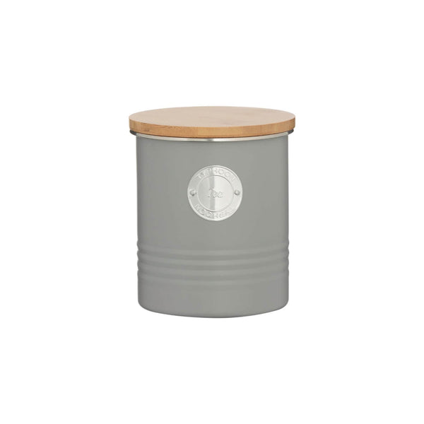 Typhoon Living Tea Canister - Grey