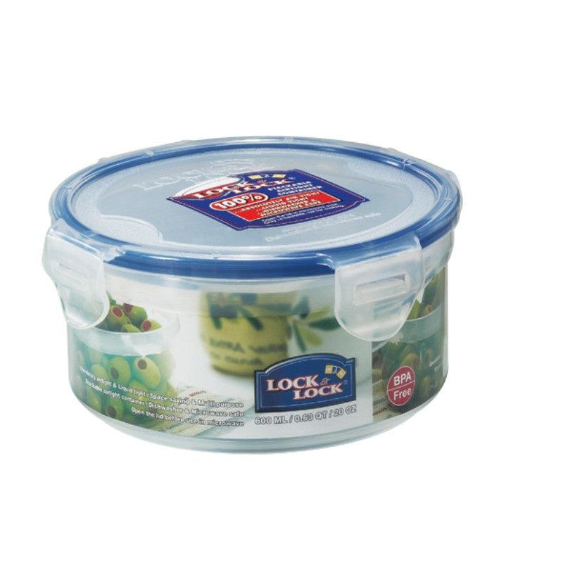 HPL933 Lock & Lock Round Food Container - 600ml
