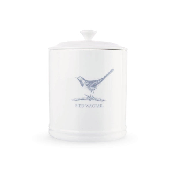 Mary Berry English Garden Tea Canister - Pied Wagtail