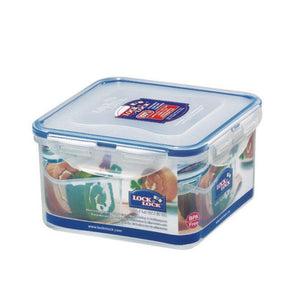 HPL822D Lock & Lock Square Food Container - 1.2 Litre