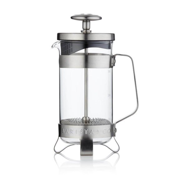 Barista & Co French Coffee Press 3 Cup - Electric Steel