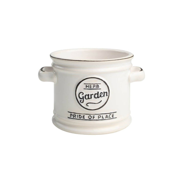 T&G Pride Of Place Plant Pot - White