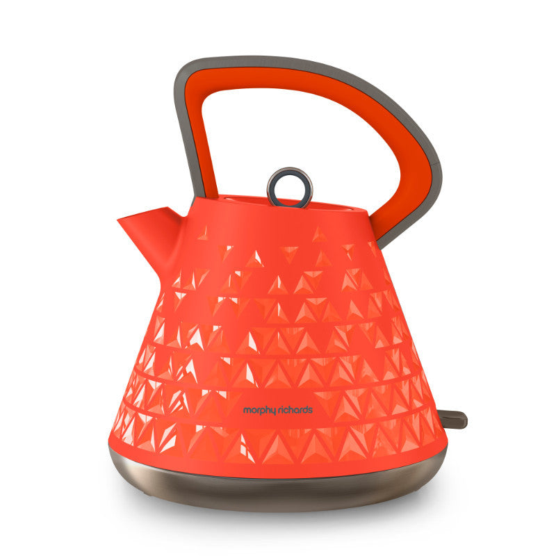 Morphy Richards 1.5 Litre Orange Prism Kettle