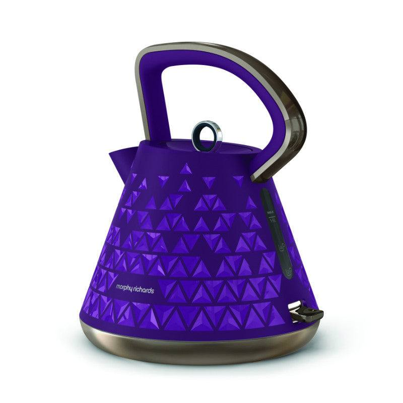 Morphy Richards 1.5 Litre Purple Prism Kettle