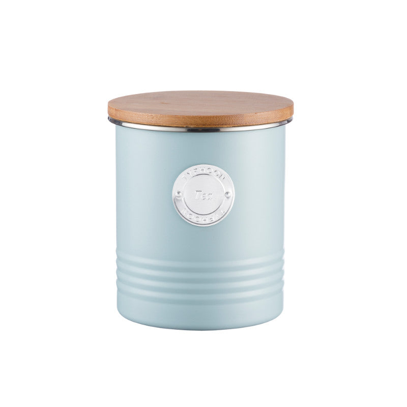 Typhoon Living 1 Litre Tea Canister - Blue