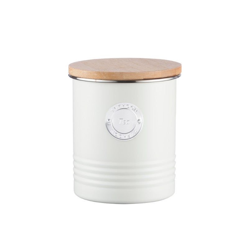Typhoon Living 1 Litre Tea Canister - Cream