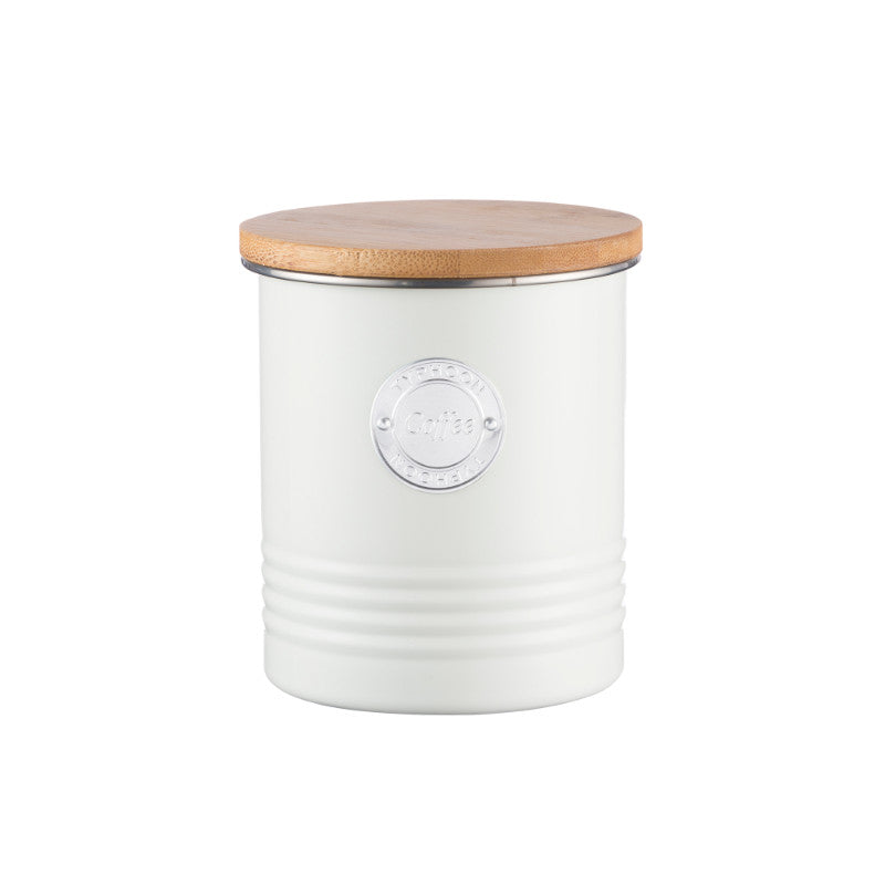 Typhoon Living 1 Litre Coffee Canister - Cream