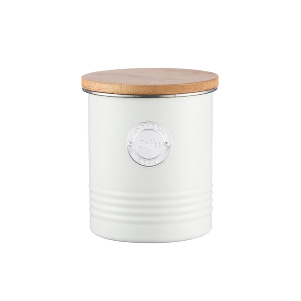 Typhoon Living Coffee Canister - Cream
