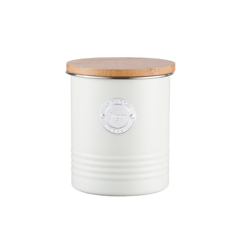 Typhoon Living 1 Litre Sugar Canister - Cream