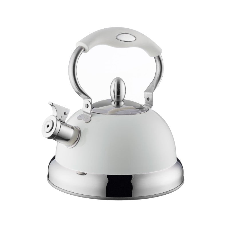 Typhoon Living Stove Top Kettle 2.5 Litre - Cream