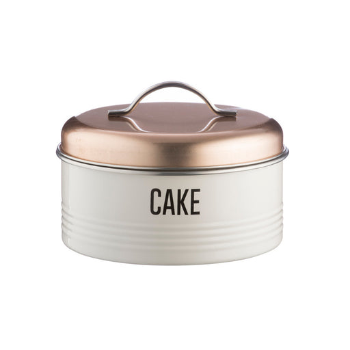 Typhoon Vintage Copper Cake Storage Tin