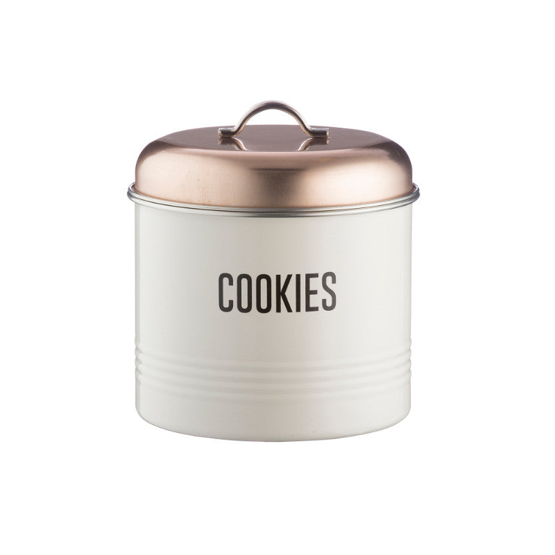 Typhoon Vintage Copper Cookie Storage Tin