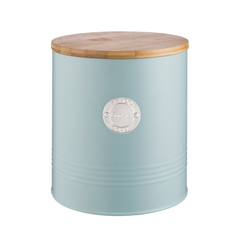 Typhoon Living Cookie Tin - Blue