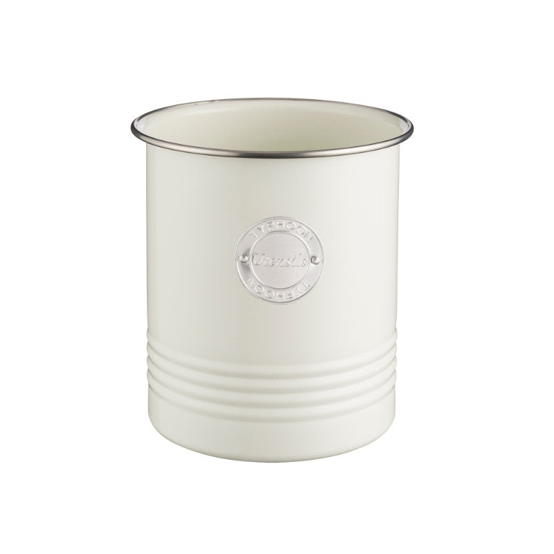 Typhoon Living Utensil Pot - Cream