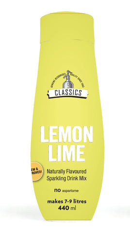 Sodastream 440ml Classic Lemon & Lime Syrup