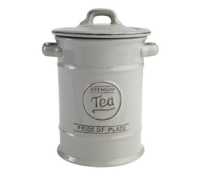 T&G Pride of Place Vintage Grey Tea Jar