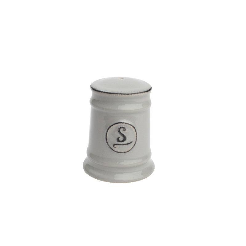 Pride of Place Vintage Salt Shaker - Grey