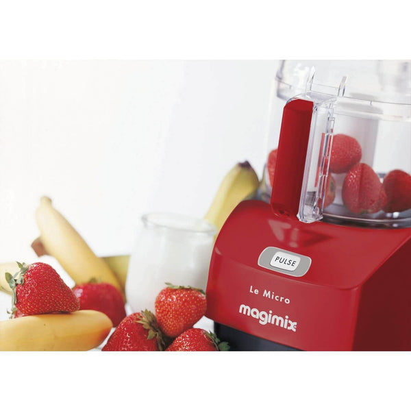 Magimix 18114 Le Micro Mini Chopper - Deep Red