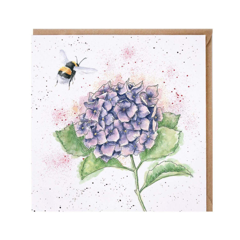 Wrendale Designs by Hannah Dale Card - The Busy Bee
