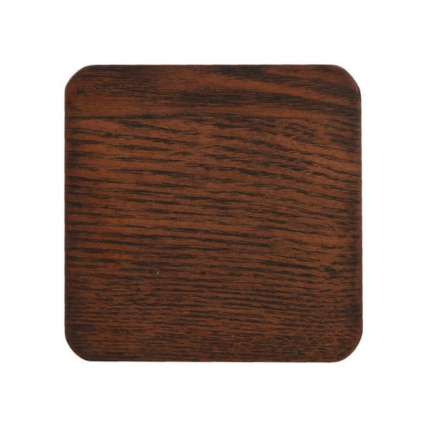 Creative Tops Naturals Brown Wood Coasters - Set of 4