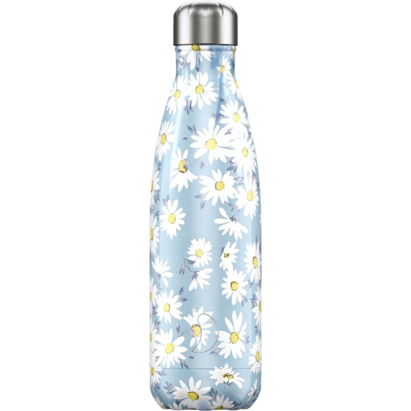 Chilly's 500ml Floral Drinks Bottle - Daisy