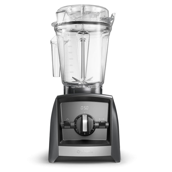 Vitamix Ascent A2300i Slate Blender Front - 065276