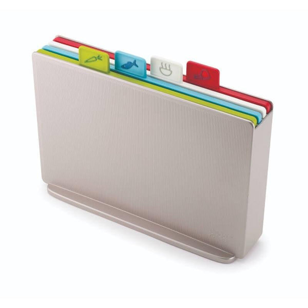 Joseph Joseph Index Chopping Board Set Regular - Silver