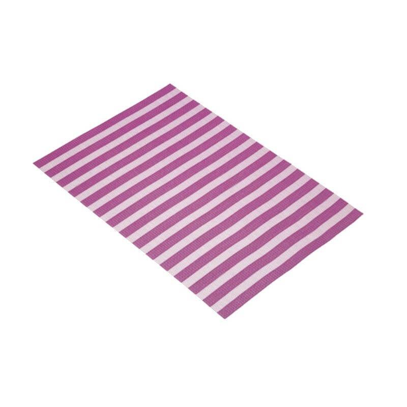 KitchenCraft Woven Placemat - Purple Stripe