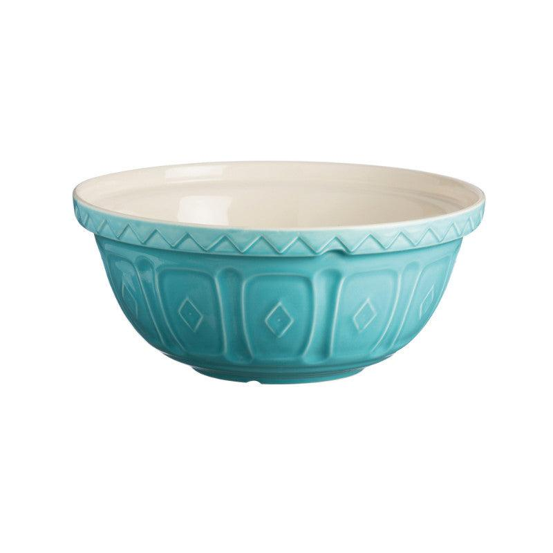 Mason Cash 24cm Colour Mix Turquoise Mixing Bowl