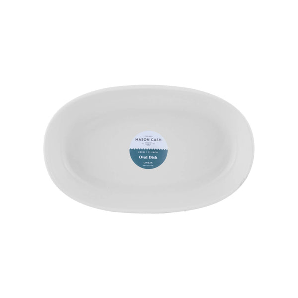 Mason Cash Linear Oval Dish - 28cm