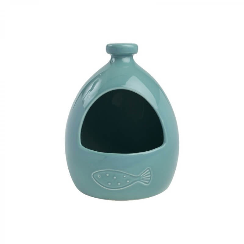 T&G Ocean Ceramic Salt Jar - Blue