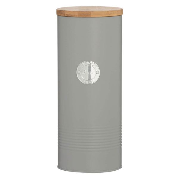 Typhoon Living Pasta Storage Tin - Grey