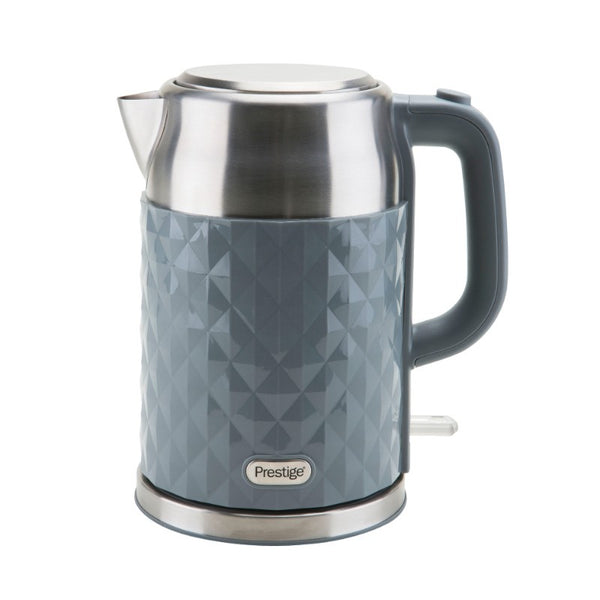 47168 Prestige Prism Diamond 1.7 Litre Grey Kettle
