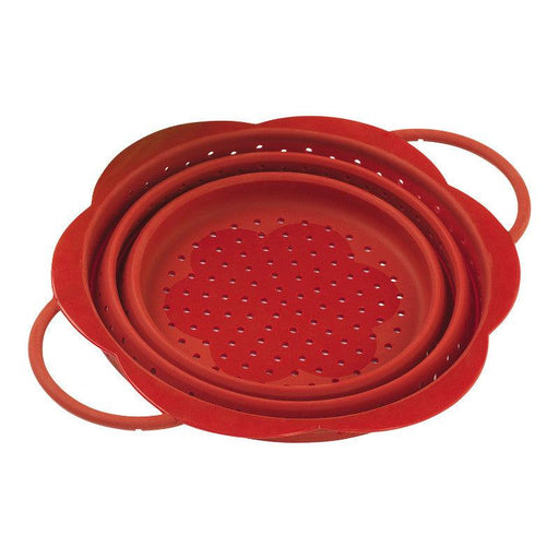 Kuhn Rikon Collapsible Small Colander - Red