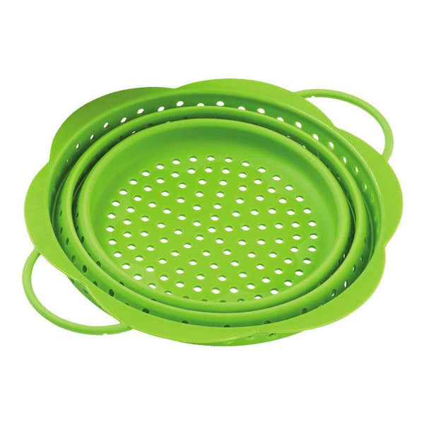 Kuhn Rikon Collapsible Large Colander - Green