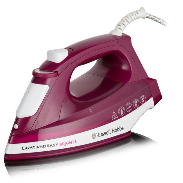 Russell Hobbs Light & Easy Brights Mulberry Iron