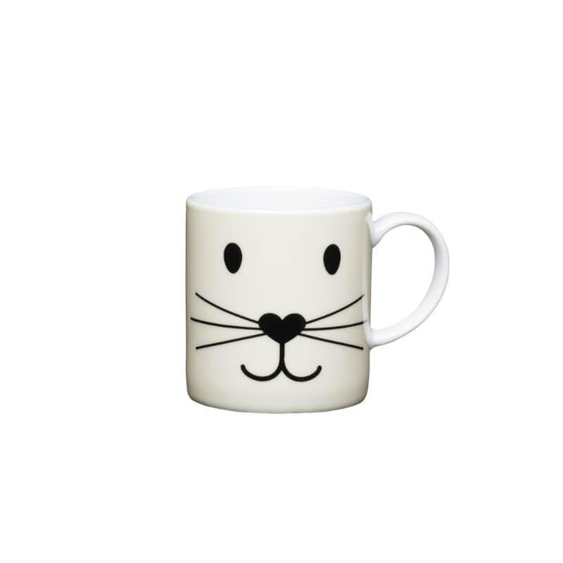KitchenCraft Espresso Mug - Cat Face