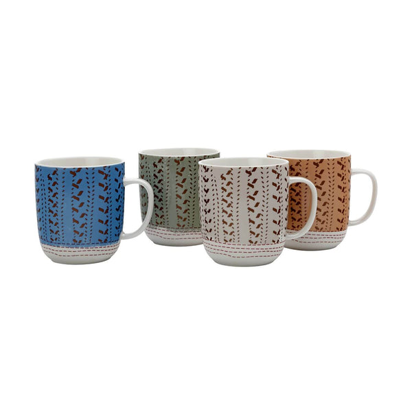 Maxwell & Williams Sojourn 400ml Mugs - Set of 4