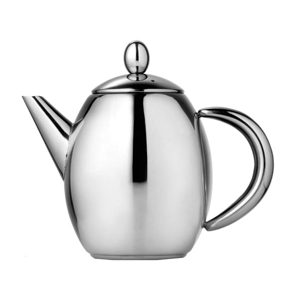 La Cafetiere Paris Stainless Steel Teapot - 6 Cup