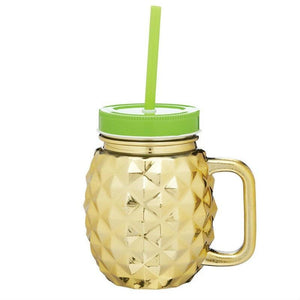 Barcraft Gold Pineapple Drinks Jar - 400ml