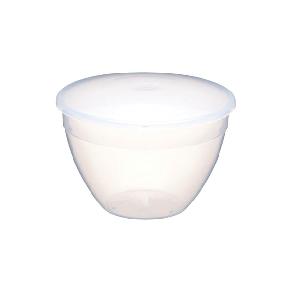 KitchenCraft Plastic Pudding Basin & Lid - 1.1 Litre