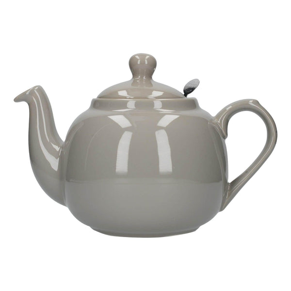 London Pottery Farmhouse 6 Cup Teapot - Grey