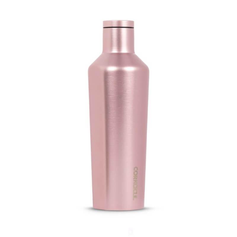 Corkcicle Canteen 16oz - Rose Metallic