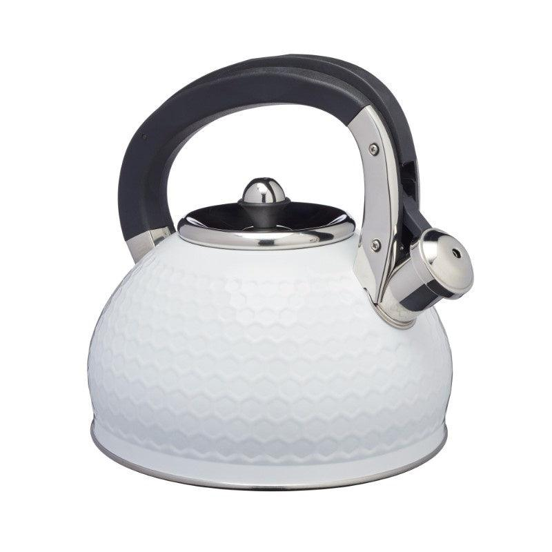 LOVKETWHT Lovello Textured Ice White Whistling Kettle - Main